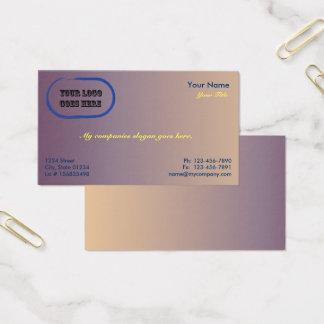 Schiefer-Steigung 1 versah Visitenkarte-Schablone Visitenkarte