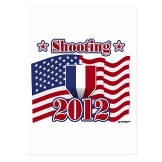 Schießen 2012 postkarte