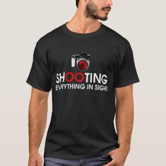 Schießen alles im Anblick-Gang T-Shirt