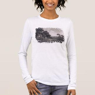 Schießen, Platte 2, graviert von William Woollett Langarm T-Shirt