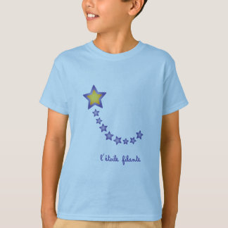 Schießen-Stern scherzt T - Shirt