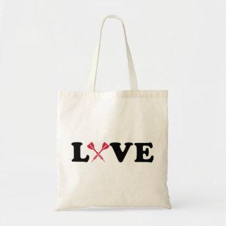Schießt Liebe Budget Stoffbeutel