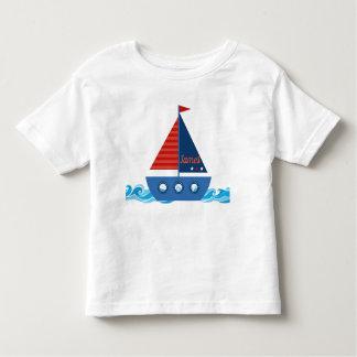 Schiff ahoi kleinkind t-shirt