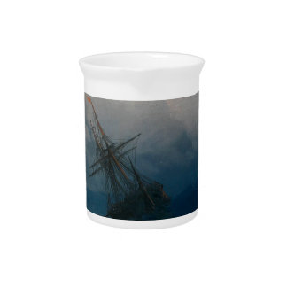 Schiff auf stürmischen Meeren, Iwan Aivazovsky - Krug