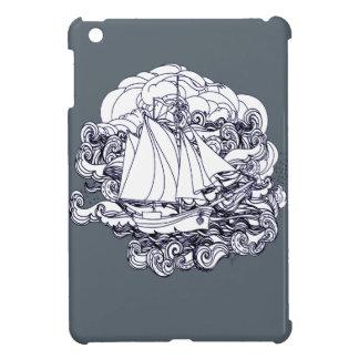 Schiff fest im Sturm iPad Mini Hülle