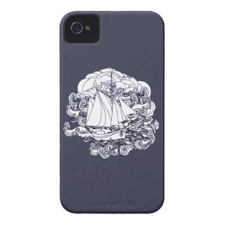 Schiff fest im Sturm iPhone 4 Hülle