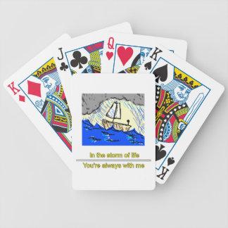 Schiff im Sturm Bicycle Spielkarten
