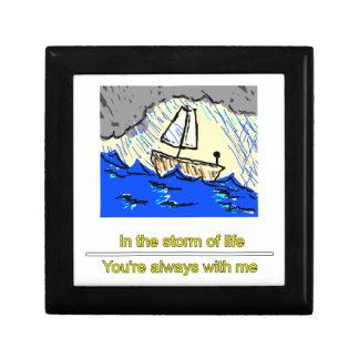 Schiff im Sturm Erinnerungskiste