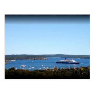 Schiff Postkarte