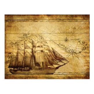 Schiff Postkarten