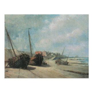 Schiffbruch-Malerei Postkarte
