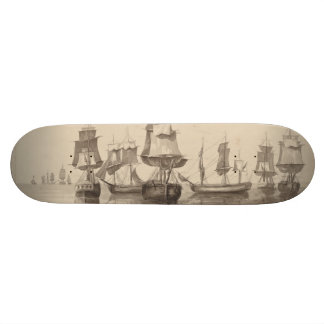 Schiffe vom 26. Juni 1776 Personalisierte Skatedecks