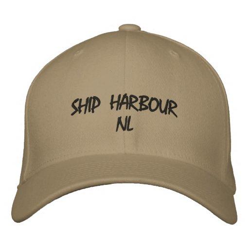 Schiffs-Hafen NL bedecken mit einer Kappe Bestickte Kappen