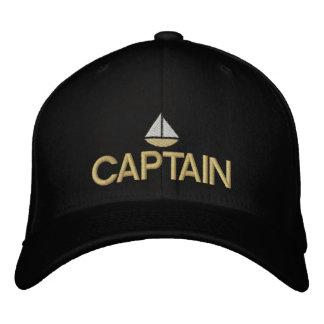 Schiffs-Kapitän gestickter Hut