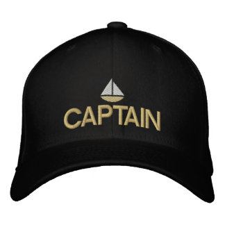 Schiffs-Kapitän gestickter Hut Bestickte Baseballkappen