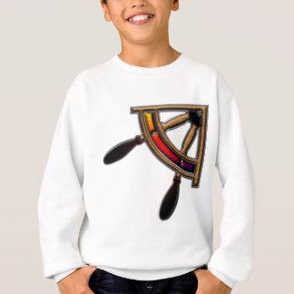 Schiffs-Rad-Kunst Sweatshirt