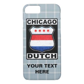 Schild-Telefon-Kasten Chicagos niederländischer iPhone 8/7 Hülle
