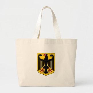Schild von Deutschland Jumbo Stoffbeutel