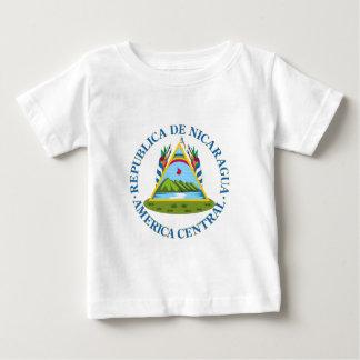Schild von Nicaragua Baby T-shirt