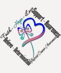 Schilddrüse-Krebs-Glauben-Hoffnungs-Liebe-Schmette Shirt