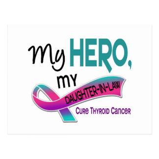 Schilddrüsenkrebs MEIN HELD MEINE SCHWIEGERTOCHTER Postkarte