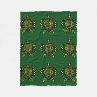 Schildkröte 2b fleecedecke