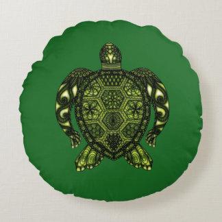 Schildkröte 2b rundes kissen