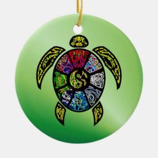 Schildkröte Ba-Gua Keramik Ornament