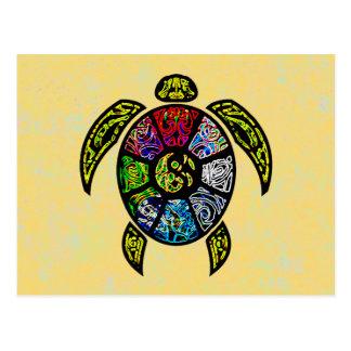 Schildkröte Ba-Gua Postkarte