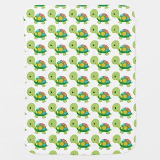 Schildkröte-Baby-Decke Kinderwagendecke