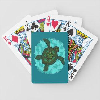 Schildkröte Bicycle Spielkarten