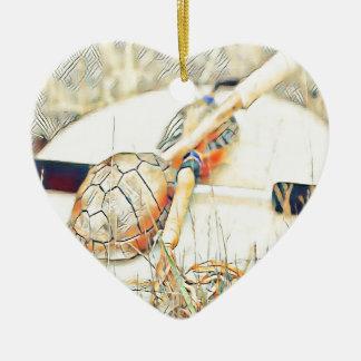 Schildkröte-Clan rattern und trommeln Keramik Ornament
