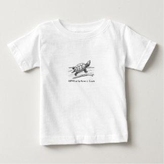 Schildkröte des Kleinkind-T/Stinkpot Baby T-shirt