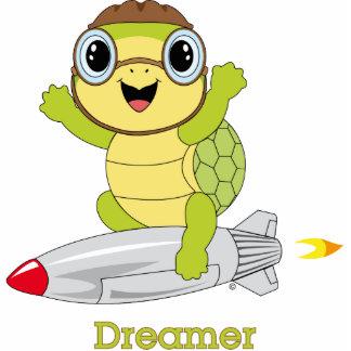 Schildkröte Dreamer™ Foto-Skulptur Foto Figur