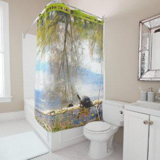 Schildkröte-Duschvorhang Duschvorhang