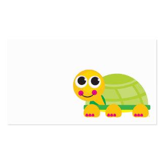 Schildkröte-Einschließungs-Karte Visitenkarten