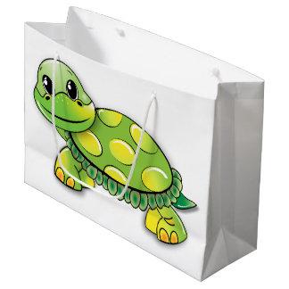Schildkröte-Geschenk-Tasche Große Geschenktüte
