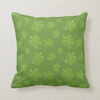 Schildkröte-Grün-Druck Kissen