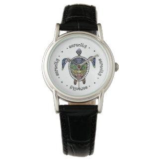 Schildkröte-Harmonie-kundenspezifisches Uhr