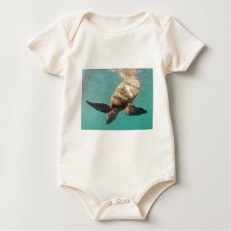 Schildkröte Hawaiis Honu Baby Strampler