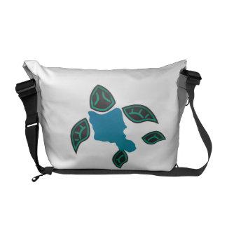 Schildkröte Hawaiis Oahu Kurier Taschen