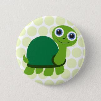 Schildkröte-Junge Runder Button 5,1 Cm
