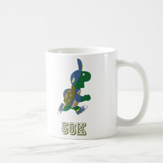 Schildkröte-Läufer 50K - Blau Kaffeetasse