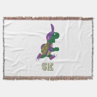 Schildkröte-Läufer 5K - lila Decke
