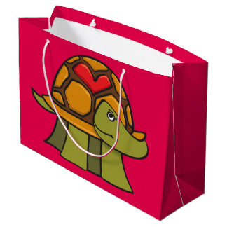 Schildkröte-Muschel-Herz Große Geschenktüte
