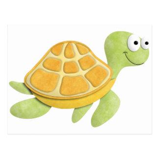 Schildkröte-Postkarte