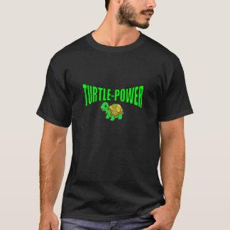Schildkröte-Power-T-Stück T-Shirt