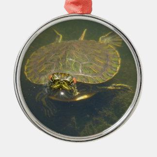 Schildkröte Silbernes Ornament