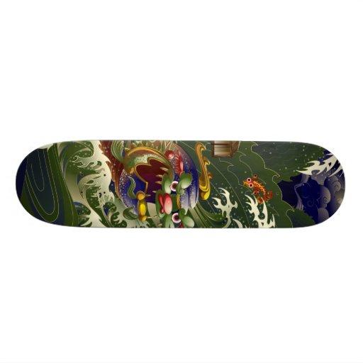 Schildkröte Skateboard Bretter