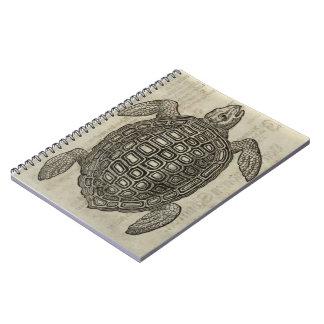 Schildkröte Spiral Notizblock